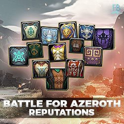 Buy battle for azeroth reputations