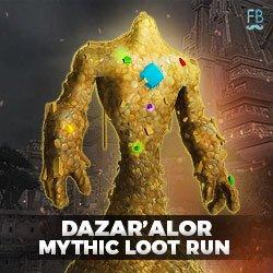 Buy Dazar'alor mythic loot run