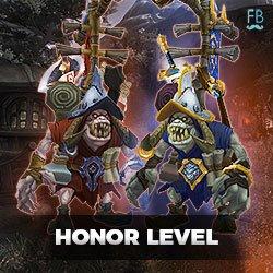 Buy honor level