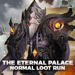 Buy the eternal palace normal loot run