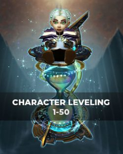 Buy character leveling 1-50