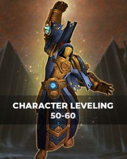 Buy character leveling 50-60