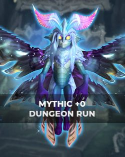 Buy mythic+0 dungeon run