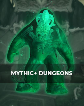 Buy mythic+ dungeons