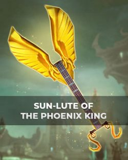 Buy Sun-Lute of the Phoenix King