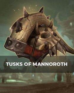 Buy Tusks of Mannoroth