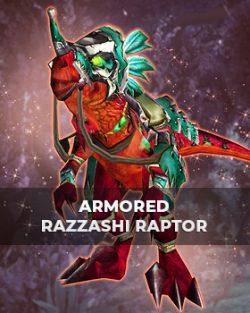 Buy Armored Razzashi Raptor