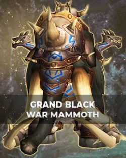 Buy Grand Black War Mammoth